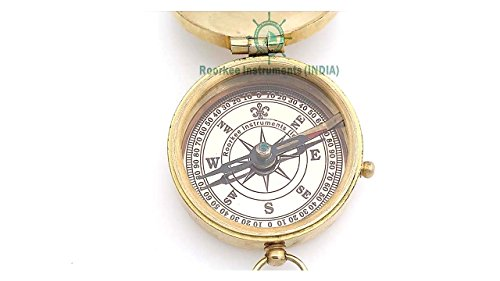 Roorkee Instruments India Survival Compass 4 Roorkee Instruments India A NAUTICAL REPRODUCTION HOUSE Engraved Compass Directional Magnetic Personalized Gift for Camping, Hiking and Touring