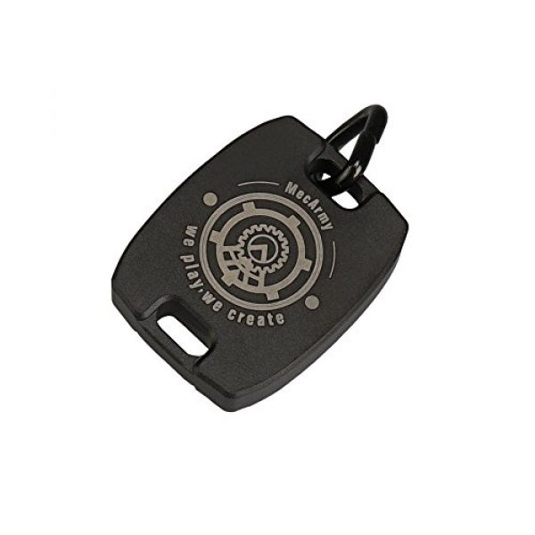 MecArmy Survival Compass 2 MecArmy CMP2, High Sensitivity EDC Compass, with Glow in The Dark and Beaded Chain You can Carry as a Pendant