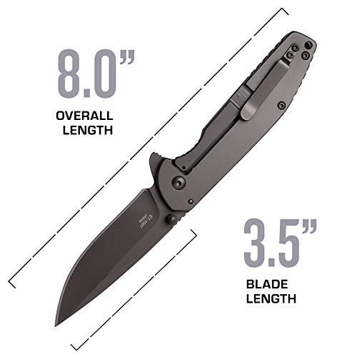 Elite Tactical  4 Elite Tactical Folding Pocket Knife - ET-1007
