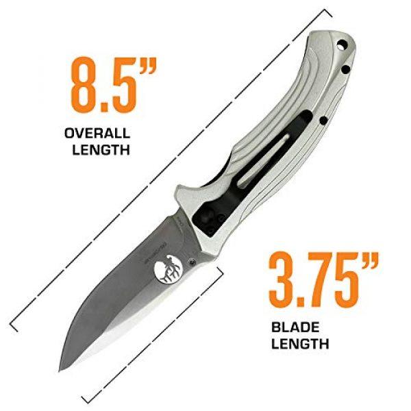 Elk Ridge Evolution Folding Survival Knife 4 Elk Ridge Evolution Folding Knife - ERE-FDR011-BR