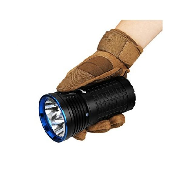 OLIGHT Survival Flashlight 5 OLIGHT X7 Marauder CREE XHP70 CW LED Flashlight, 9000 Lumens, IPX8 Waterproof, Cool White