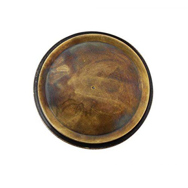 MAH Survival Compass 7 MAH Robert Frost Brass Poem Compass. C-3122