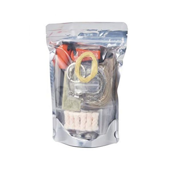 Stanford Outdoor Supply Survival Fire Starter 3 Fire B.O.S.S.Off Grid Tools Survival Fire Starting Kit - Bug Out Bag Ready Fire Kit Includes 33 Fire Starting Items.