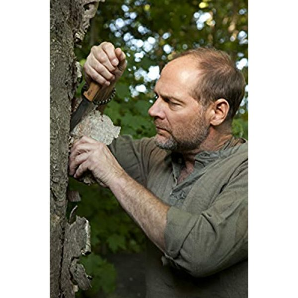 HELLE Fixed Blade Survival Knife 5 HELLE Knives - Mandra - Triple Laminated Stainless Steel - Traditional Field Knife - Designed by Les Stroud - Made in Norway