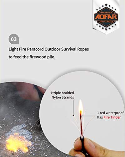 Outdoor Survival fire Striker kit