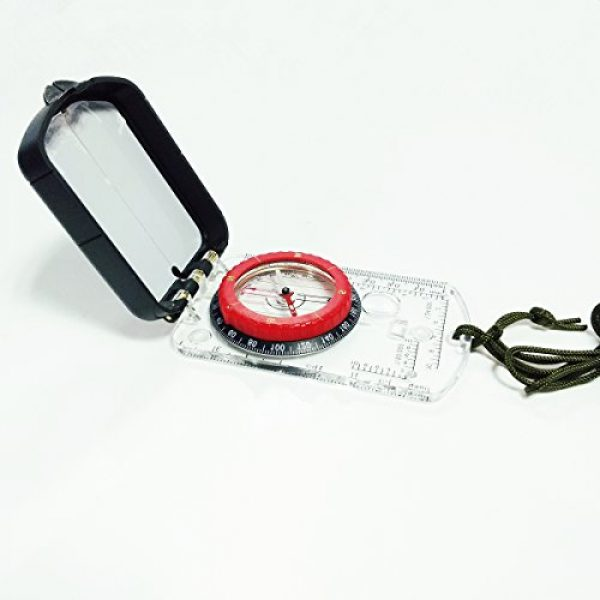 Magnos Somnia Survival Compass 2 The Best Multipurpose Magnetic Easy To Use Camping, Hiking And Outdoor Adventuring Compass