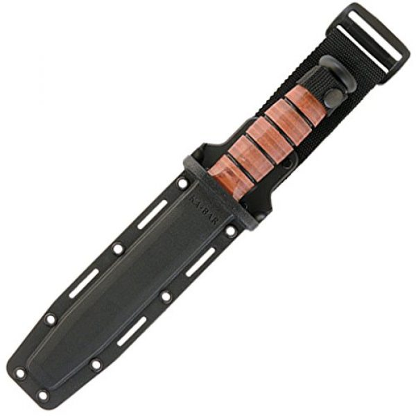 Ka-Bar Fixed Blade Survival Knife 2 Ka-Bar Full-Size U.S.M.C. Serrated Edge Knife