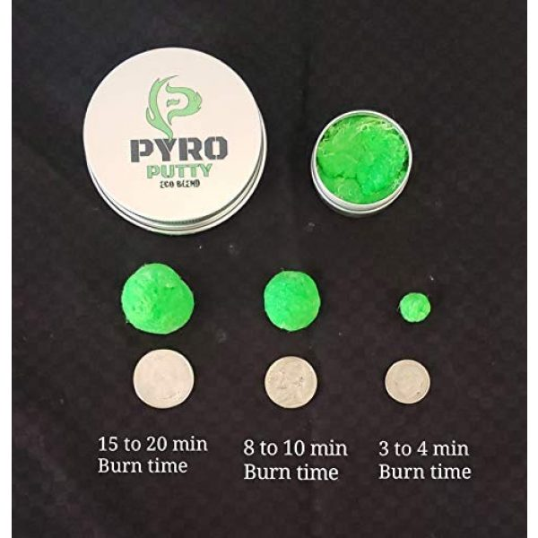Phone Skope Survival Fire Starter 5 Phone Skope Pyro Putty Kits   Ultimate, Starter, or Ferro Rod   Comes w/Single Use Foils of Pyro Putty