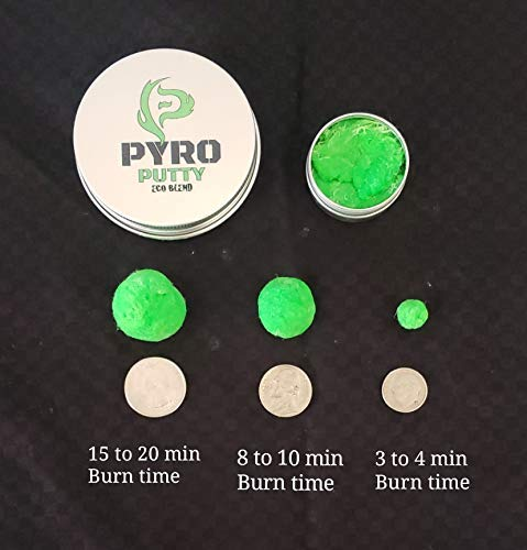 Phone Skope Survival Fire Starter 5 Phone Skope Pyro Putty Kits | Ultimate, Starter, or Ferro Rod | Comes w/Single Use Foils of Pyro Putty