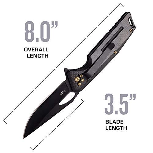 Elite Tactical  4 Elite Tactical Folding Pocket Knife - ET-1013