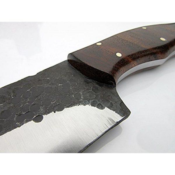 Poshland Fixed Blade Survival Knife 3 SK-1163, Custom Handmade Hi Carbon Steel Skinner Knife - Beautiful Rose Wood Handle