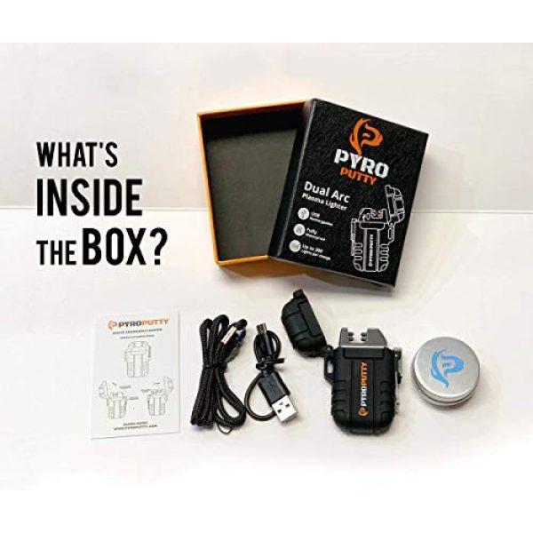 Phone Skope Survival Fire Starter 2 Phone Skope PYRO Putty ARC Lighter Kits | USB Rechargable |
