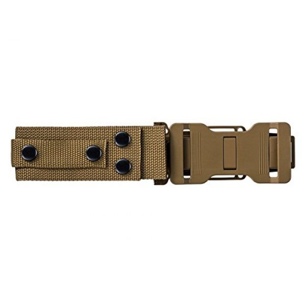 Gerber Gear Fixed Blade Survival Knife 5 Gerber StrongArm Fixed Blade Knife with Fine Edge - Coyote Brown