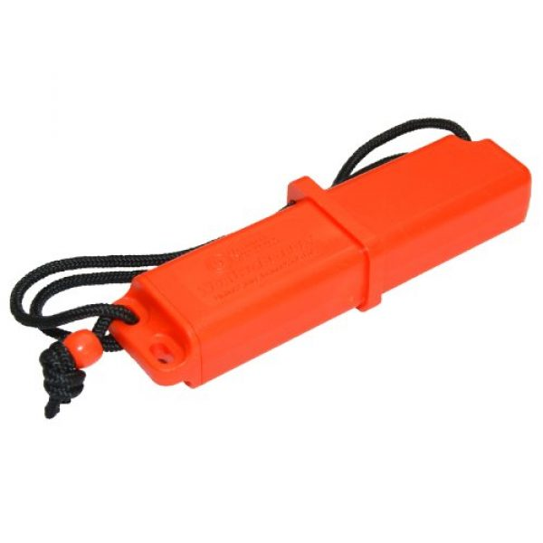UST Survival Fire Starter 3 UST StrikeForce Fire Starter with Durable Construction and Lanyard for Camping, Backpacking, Hiking, Emergency and Outdoor Survival