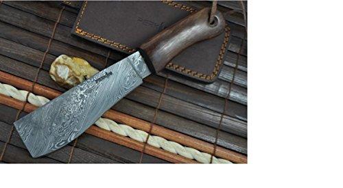 Perkin Knives  6 Perkin Knives - Damascus Steel Knife - Hunting Knife - Machete
