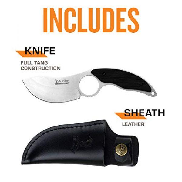 Elk Ridge Evolution Fixed Blade Survival Knife 5 Elk Ridge Evolution Fixed Blade Knife - ERE-FIX009PL-BK