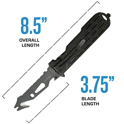 MTECH USA EVOLUTION  4 MTech Evolution Spring Assisted Knife - MTE-A014-BK