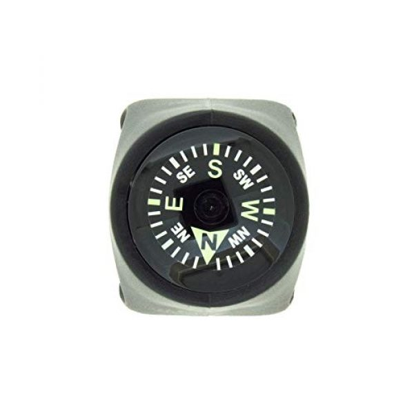 Sun Company Survival Compass 2 Sun Company Clip-On Compass for Bikes | Handlebar Compass for Bicycle, Motorcycle, ATV, or Snowmobile