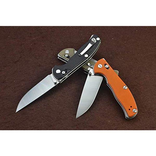 CNSUNDO Folding Survival Knife 7 CNSUNDO D2 Steel Blade G10 Handle Satin Finish Axis Lock Tactical Folding Blade Knife