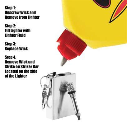 Tag-Z Survival Fire Starter 2 Tag-Z Emergency Fire Starter - Permanent Match - Forever Lighter - Camping Fire Starter - Rectangle