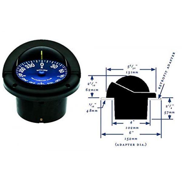 Ritchie Navigation Survival Compass 2 Ritchie SS-1002 Supersport Flush Mount Compass