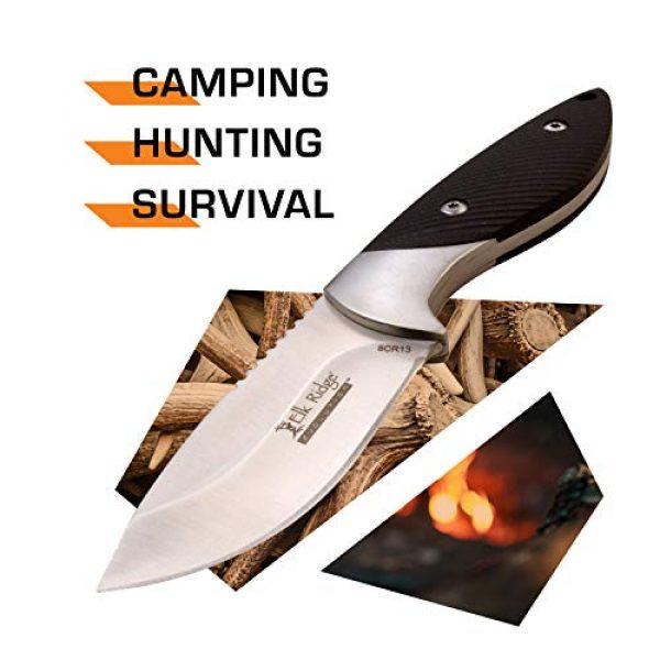 Elk Ridge Evolution Fixed Blade Survival Knife 2 Elk Ridge Evolution Fixed Blade Knife - ERE-FIX014PL-BK