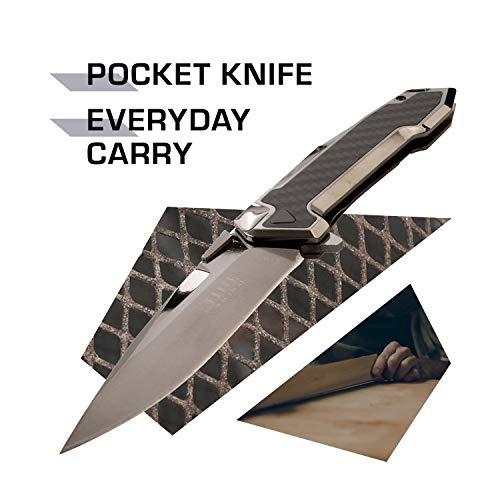 Elite Tactical  2 Elite Tactical Folding Knife - ET-1018GM