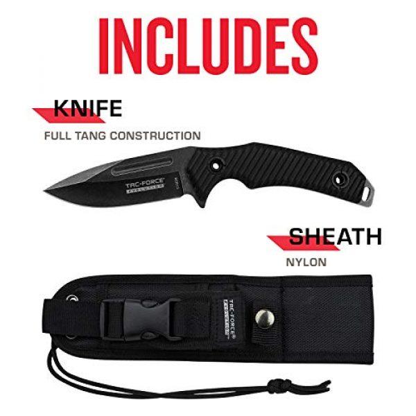 Tac Force Evolution Fixed Blade Survival Knife 5 Tac Force Evolution Fixed Blade Knife - TFE-FIX006-BK