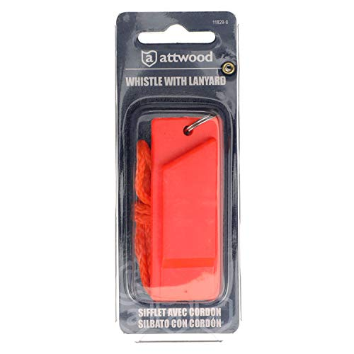 attwood  2 Attwood 11829-6 Safety Whistle
