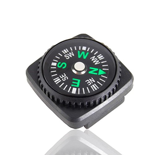 REVEW Survival Compass 2 REVEW 20PCS Button Compass Mini Compass for Paracord Bracelet Liquid Filled Compass for Emergency Survival Watch Band Paracord Bracelet Watchband Paracord Bracelets