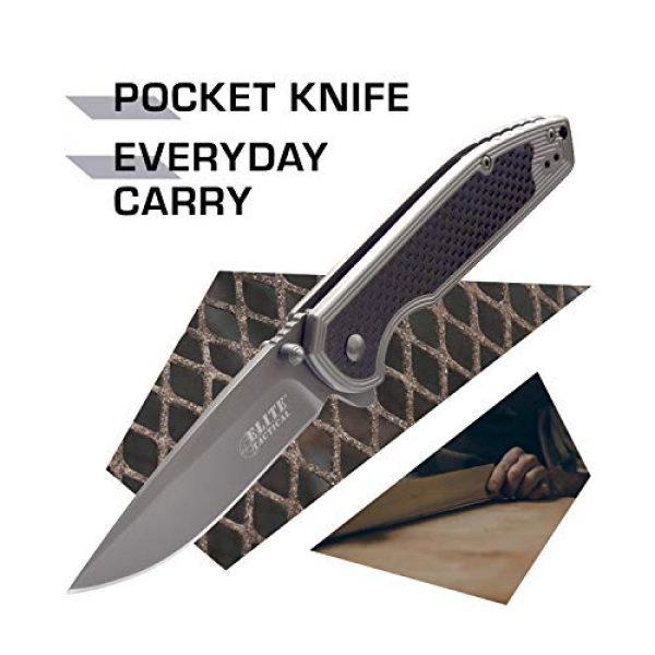 Elite Tactical Folding Survival Knife 2 Elite Tactical Folding Pocket Knife - ET-1007