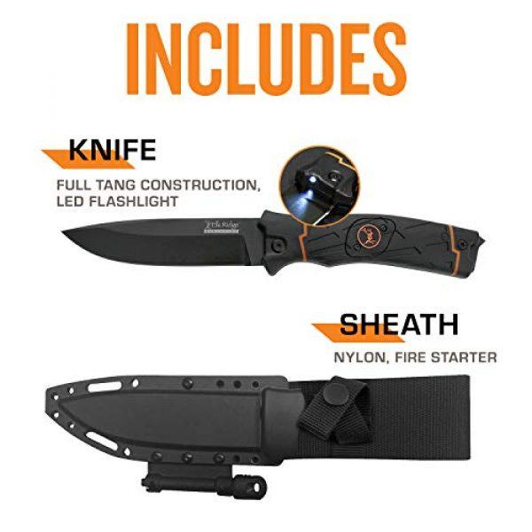 Elk Ridge Evolution Fixed Blade Survival Knife 5 Elk Ridge Evolution Fixed Blade Knife - ERE-FIX010LED-BO