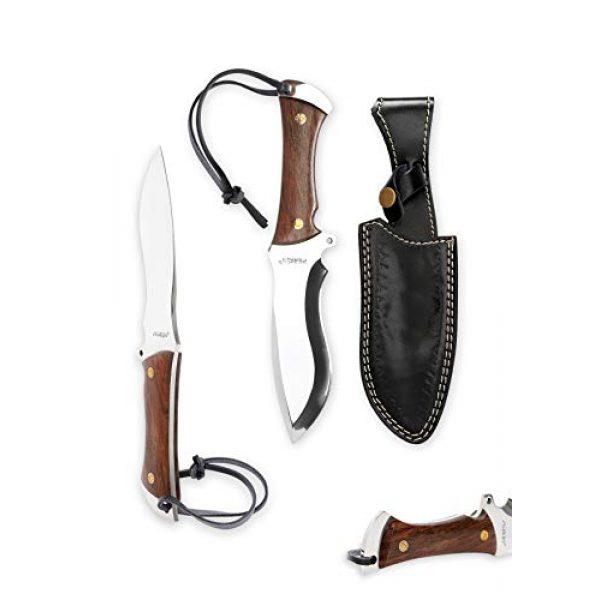 Perkin Fixed Blade Survival Knife 4 Perkin Knives - Handmade Hunting Knife D2 Tool Steel