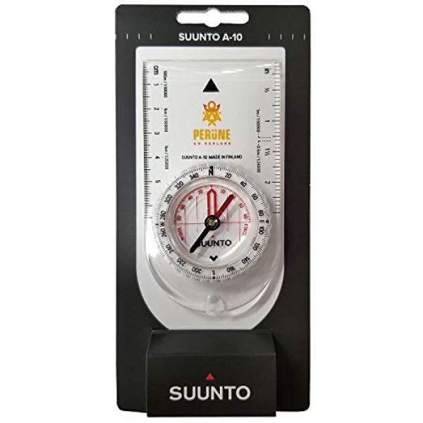 SUUNTO Survival Compass 4 SUUNTO A-10 Recreational Field Compass (in Metric Perune White)