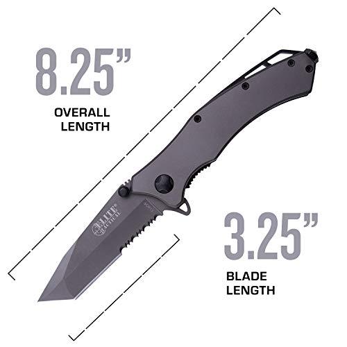 Elite Tactical  4 Elite Tactical Spring Assisted Knife - ET-A1020TS-SO