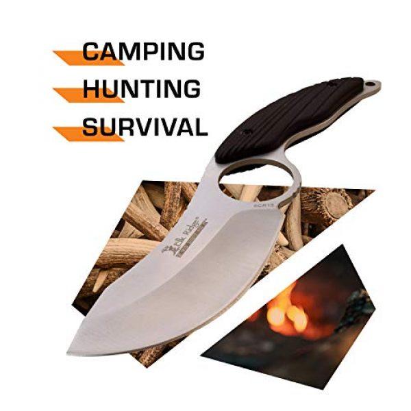 Elk Ridge Evolution Fixed Blade Survival Knife 2 Elk Ridge Evolution Fixed Blade Knife - ERE-FIX009PL-BK