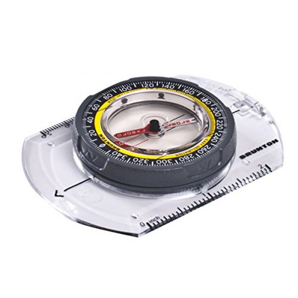 Brunton Survival Compass 2 TruArc 3 - Base Plate Compass