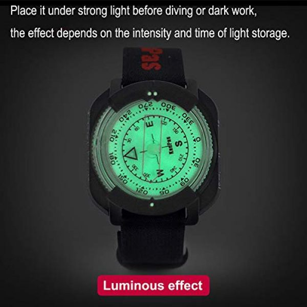 KanPas Survival Compass 3 Diving Sighting Wrist Compass for Outdoor Orienteering Mountaineering Hiking
