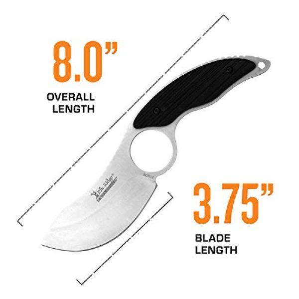 Elk Ridge Evolution Fixed Blade Survival Knife 4 Elk Ridge Evolution Fixed Blade Knife - ERE-FIX009PL-BK