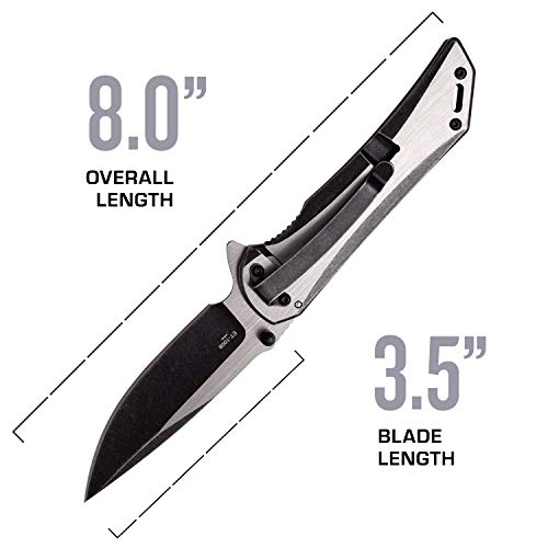 Elite Tactical  4 Elite Tactical Folding Pocket Knife - ET-1008