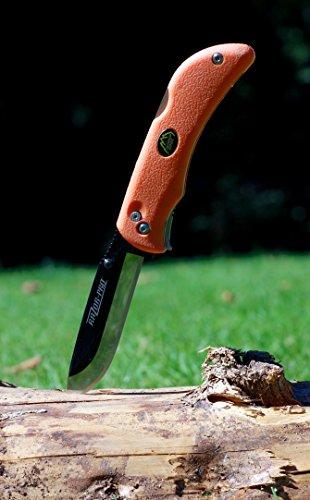 Outdoor Edge  3 Outdoor Edge RazorLite Replaceable Blade Folding Hunting Knife with Nylon Sheath