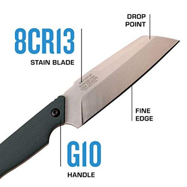 MTECH USA EVOLUTION Fixed Blade Survival Knife 3 MTech Evolution Tactical Fixed Blade Knife - MTE-FIX011-GN