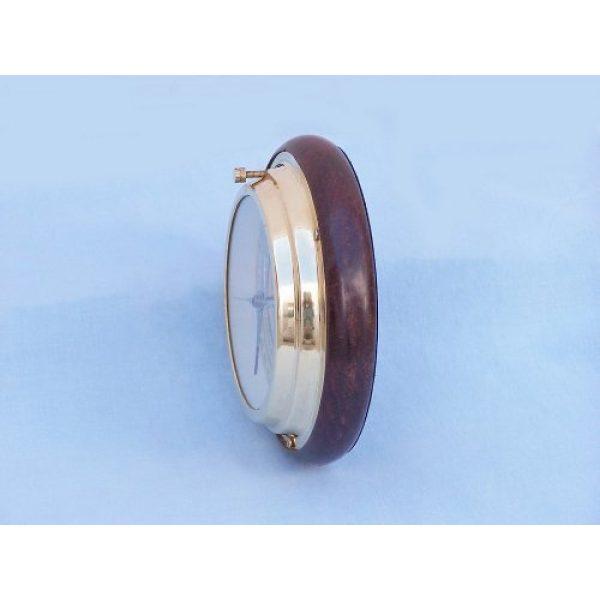 """Hampton Nautical Survival Compass 2 Hampton Nautical Brass Directional Desktop Compass, 6"""", Brass"""
