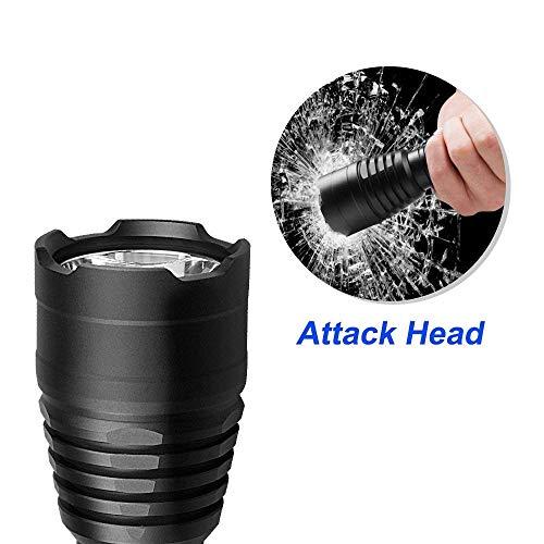 Odepro  2 Odepro KL41 420 Yards 850 Lumens 5 Modes Tactical LED Flashlight Waterproof Handheld Lights - Outdoor