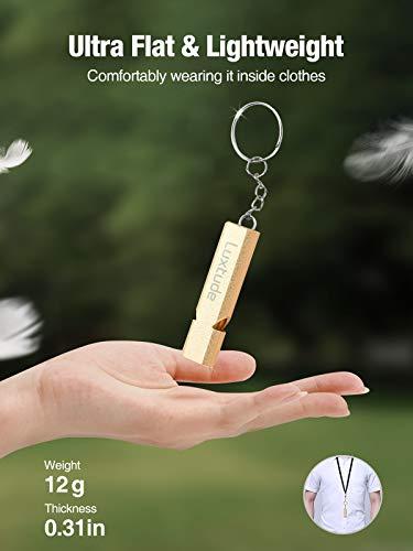 Luxtude  2 Luxtude 4 Pack Emergency Whistles