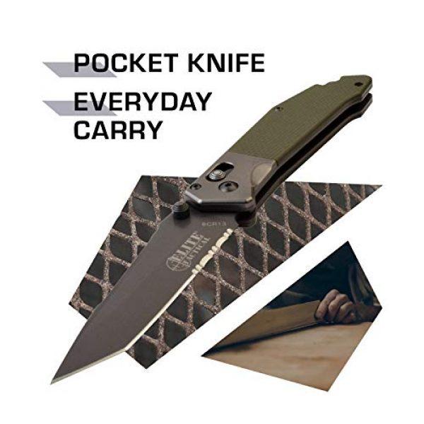 Elite Tactical Folding Survival Knife 2 Elite Tactical Folding Knife - ET-1027GN