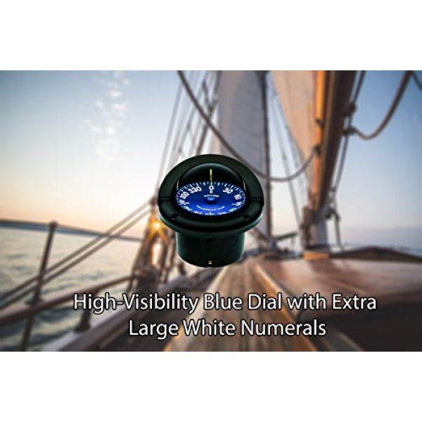 Ritchie Navigation Survival Compass 3 Ritchie SS-1002 Supersport Flush Mount Compass