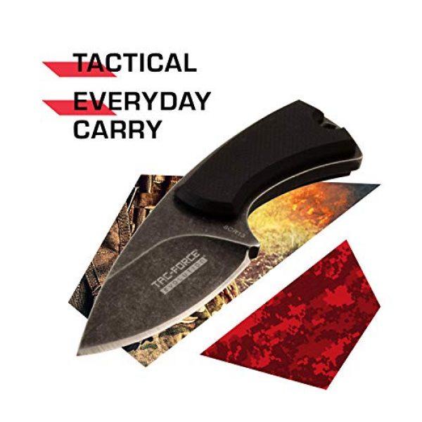 Tac Force Evolution Fixed Blade Survival Knife 2 Tac Force Evolution Fixed Blade Knife - TFE-FIX012-BK