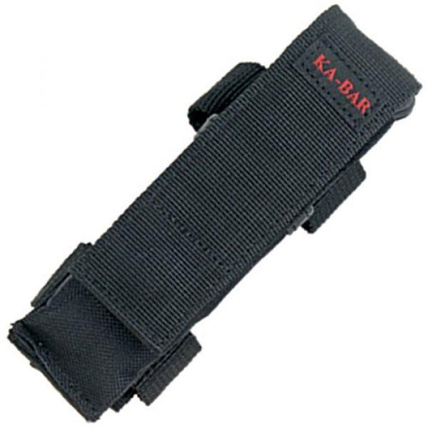 Kershaw Folding Survival Knife 2 Kershaw Ka-Bar 3050 KA bar, Mule Folder, Black, Straight Edge