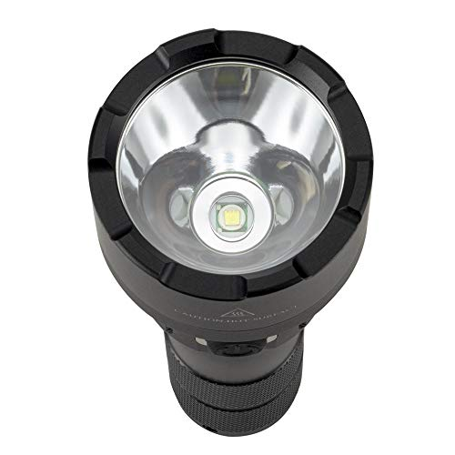 ALONEFIRE  2 ALONEFIRE X005 LED Tactical Flashlight High Lumens Rechargeable Waterproof Flashlight with 18650 Lithium Battery for Camping Outdoor Emergency Hiking
